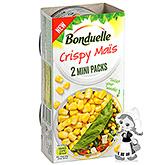 Bonduelle Mini-pack de maïs croustillant 2x75g