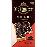 De Ruijter Chunks extra puur 200g