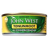 John West Tonijnmoot in zonnebloemolie 160g