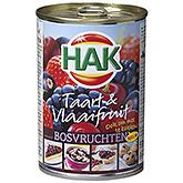 Hak Cake et Tarte Aux Fruits Fruits Des Forêts 425g