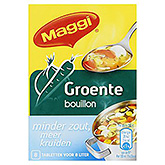 Maggi Vegetable stock less salty 72g