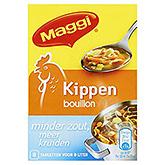 Maggi Chicken broth less salt more spices 72g