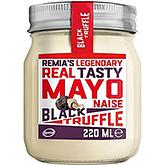 Remia Legendary real tasty mayonaise black truffle 220ml