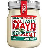 Remia Legendary real tasty mayonaise rosemary seasalt 220ml