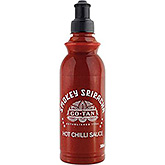 Go-Tan Smokey Sriracha scharfe Chilisauce 380ml