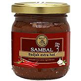 Spice it Sambal badjak extra hot 200g