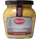 Marne Groninger mustard coarse and spicy 235g