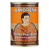 La Morena Refried bayo beans with chilpotle and adobo 440g