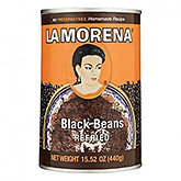 La Morena Refried black beans 440g