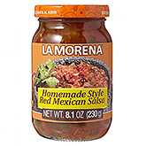 La Morena Home made style red Mexican salsa 230g