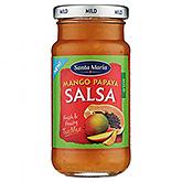 Santa Maria Mango papaya salsa 230ml