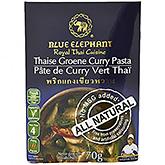 Blå elefant Thai grøn karrypasta 70g