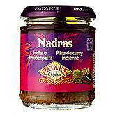 Patak's Madras Indian spice paste 165g