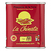 La chinata Smoked paprika powder hot 70g