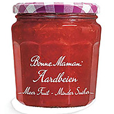 Bonne maman Strawberries more fruit less sugar 335g