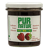 Pur natur Strawberry extra jam organic 370g