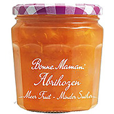 Bonne maman Apricots more fruit less sugar 335g