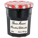 Bonne maman Raspberry willamette 210g