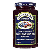 Chantaine Cranberries en blauwe bessen confiture 325g