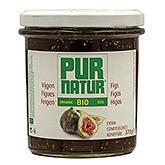 Pur natur Figs extra jam organic 370g