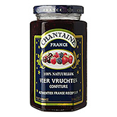 Chantaine Confiture Aux Quatre Fruits 325g