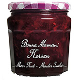 Bonne maman Cherries more fruit less sugar 335g