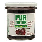 Pur natur Cherries extra jam organic 370g