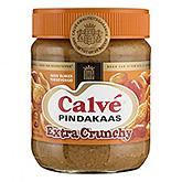 Calvé au beurre de cacahuète extra croquant 350g
