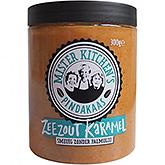 Mister kitchen's Pindakaas zeezout karamel 300g