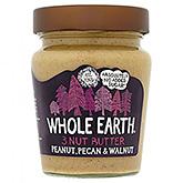 Terre entière 3 noix beurre de noix de pécan cacahuète noix 227g