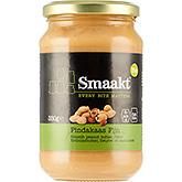 Smaakt Beurre de cacahuète finement biologique 350g
