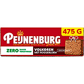 Peijnenburg Whole grain zero% sugar added sliced 475g