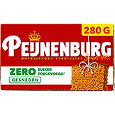 Peijnenburg Zero% sugar added sliced 280g