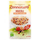 Zonnatura Muesli red fruit 375g
