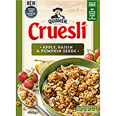 Quaker Cruesli apple and raisin 500g
