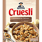 Quaker Cruesli cookies and cream 450g