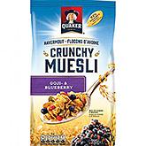 Quaker Havermout crunchy muesli goji en blueberry 350g
