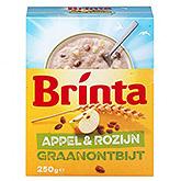 Brinta Graanontbijt appel rozijn 250g