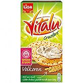 Liga Vitalu crackers whole wheat 200g