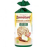 Zonnatura Volkoren rijst en maiswafels appel kaneel 127g