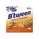 Hero B'tween Erdnuss und Erdnussbutter 6x25g