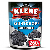 Klene Muntdrop Liquirizie medio-dolci a forma di moneta 260g