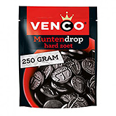 Venco Muntendrop coin-shaped liquorice hard sweet 250g