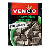 Venco Piramides soft sweet liquorice in a pyramid shape 250g