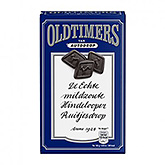 Oldtimers Mildzoute hindelooper ruitjesdrop mild, salt lakrits 235g