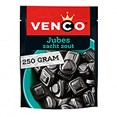 Venco Jubes salty soft liquorice with a hint of liquorice powder 250g