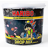 Haribo Dropmix gekleurd 650g