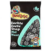 Harlequins Soft sweet licorice with mint 400g