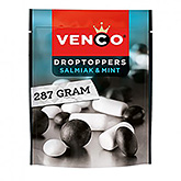 Venco Droptoppers salmiak og mynte 276g