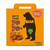 Bear Yoyos pure fruit mango 100g